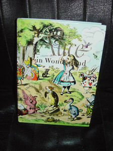 Alice in Wonderland &Through the Looking Glass by Lewis Carroll 1974 Hardback