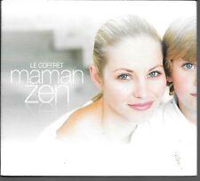 COFFRET 3 CD COMPIL 25 TITRES + 1 DVD--MAMAN ZEN / FORME--BEAUTE--BIEN ETRE
