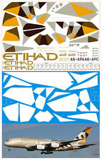 1/144 PAS-DECALS. Revell. Airbus A-380 Etihad New