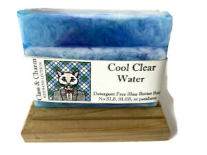 Men's Soap - Cool Clear Water Scent - Masculine Scents - Shea Butter Soap
