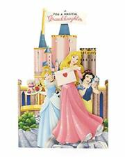 Granddaughter Birthday Card - Princess Birthday Card for Granddaughter - Novelty