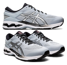 ASICS GEL-KAYANO 26 Men's Running Shoes Grey/Pure Silver 1011A541-022 AUTHENTIC