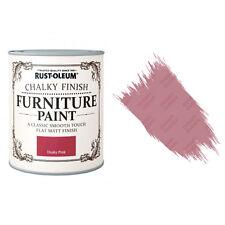 Rust-Oleum Craie Crayeux Meuble Peinture Usé Chic 750ml Rose Sombre Mat