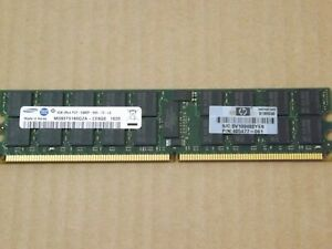 Samsung 4GB 2Rx4 PC2-5300P 667MHZ CL5 1.90V 36Chip M393T5160QZA-CE6Q0 Server