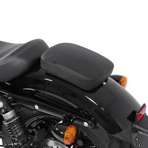 Sellino passeggero Yamaha XV 1600 A Wild Star ventose sella Glider nero