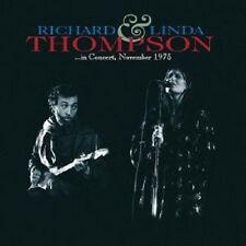 """RICHARD THOMPSON & LINDA """"IN CONCERT NOVEMBER 1975"""" CD"""