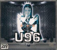 MAXI CD SINGLE 3 TITRES--U 96--LOVE RELIGION--