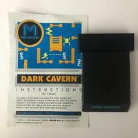 DARK CAVERN Atari 2600 56670950 Original Game Cartridge & Manual  M Network