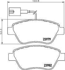 Mintex Front Brake Pad Set MDB2239  - BRAND NEW - GENUINE - 5 YEAR WARRANTY