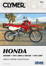 CLYMER REPAIR MANUAL Fits: Honda XR600R