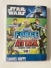 Topps Star Wars Force Attax Serie2 - Sammelmappe inkl. 3 Limited Edition Karten