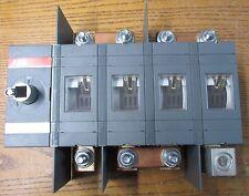UNUSED NOS ABB OT400U04 Disconnect Switch 600VAC 400 Amps 4 Poles