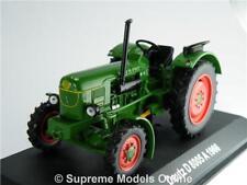 DEUTZ D 8005 A TRACTOR MODEL VEHICLE 1:43 SCALE GREEN 1966 IXO FARMING R01Z