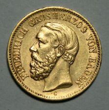 20 Mark Gold Baden 1873
