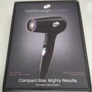 T3 Micro Featherweight Compact Folding Professional Hair Dryer - Black 76850-UK