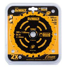 DeWalt DT10624 Extreme Framing Blade - 165mm 24T Cordless Saws Inc DCS391 DC390