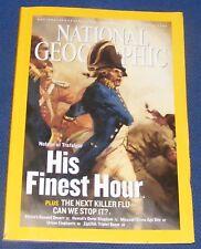 NATIONAL GEOGRAPHIC MAGAZINE OCTOBER 2005 - KILLER FLU/TRAFALGAR/AFRICA DESERT