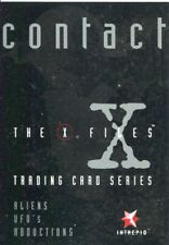 X Files Contact Promo Card Unnumbered