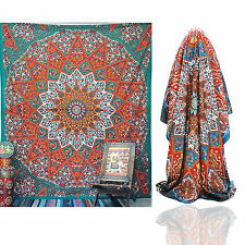 Large Buddhist Mandala Tapestry Hippie Hippy Wall Hanging Beach Throw Boho