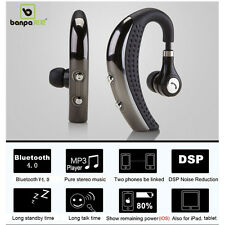 Banpa Wireless Bluetooth Headset  Stereo Headphone  earbuds For iPhone Samsung