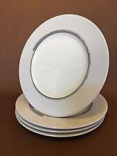 "Noritake Salad Plates 8.5"" Ambience Frost Pattern 7974 set of 4"