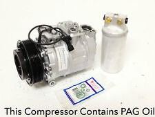 1999-2003 SAAB 9-5 ALL ENGINE USA REMAN. A/C COMPRESSOR KIT WITH 1YEAR WARRANTY.