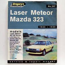 Mazda 323, Ford Laser, Meteor 1985-89 Gregory's Service & Repair Manual #237