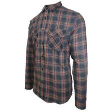 Rip Curl Men's Plaid Light Weight L/S Flannel Shirt (Retail $60)