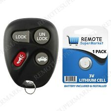 Replacement for Pontiac Bonneville Grand Am Remote Car Keyless Entry Key Fob