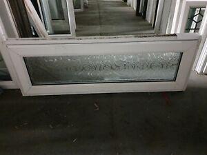 White Upvc Window 1190 X 415 (W0081)