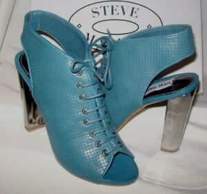 Steve Madden Blue Size 6.5  Womens Shoes Lace Up Sandals