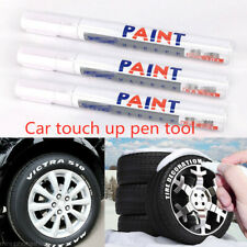 White Waterproof Permanent Tire Paint Marker Pen Car Tyre Rubber Metal Oil Based