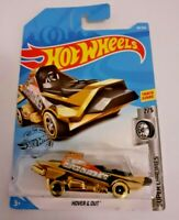MATTEL Hot Wheels   HOVER & OUT Gold   Brand New Sealed Box