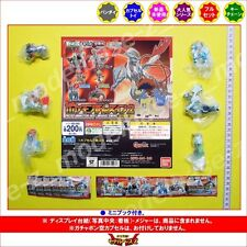 Bandai Pokemon Best wish Swing figure Set of 6 gashapon pocket monster movie sp