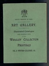 Wallis; County Borough of Bury Art Gallery Illustrated Catalogue. 1901 Good