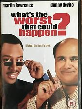 WHAT'S THE WORST THAT COULD HAPPEN ~ 2001 Crime Caper Comedy | UK DVD