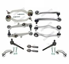 For Audi RS6 S6 Front Control Arms & Tie Rod Ends+Sway Bar Links Kit Febi