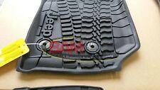 2014-2017 Jeep Wrangler 2 Door Front Slush Mats All Weather OEM 82213861 Mopar
