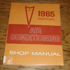 1965 Pontiac & Tempest Air Conditioning Service Shop Manual 65