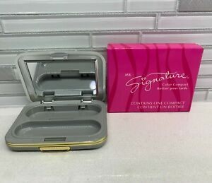 New In Box Mary Kay MK Signature Mirror Makeup Color Compact   #2502