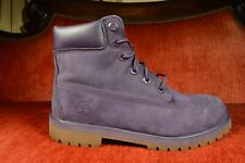 "Timberland 6"" Premium Construction Boot TB0A14T3 Purple Gum Big Kid Size 7 Y"