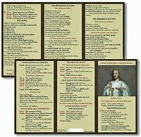 Catholic Mass Prayer And Responses Pocket Card TC001