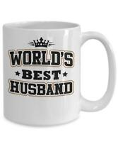 Worlds Best Husband Funny Mug Best Gifts For Husband Funny Coffee Cup