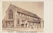 POSTCARD   HAMPSHIRE    SOUTHAMPTON    St   Barnabas  Church