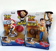 Toy Story Disneys Pixar Pull-String Woody & Jessie Talking Action Figure New