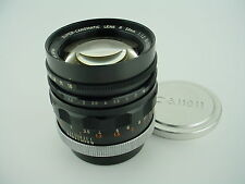 CanonFlex 58mm f/1.2 Super-Canomatic R w/Caps Very Early #56 made Lens #10056