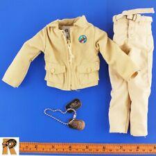 PT Boat Commander - Uniform Set & Dogtags - 1/6 Scale - GI JOE Action Figures