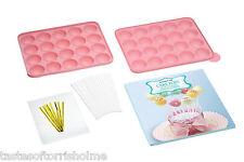 Kitchen Craft Gâteau Pop Coffret cadeau inclus en silicone pour pâtisserie Drap