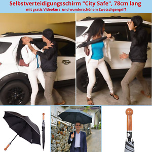 Unzerbrechlicher SV Regenschirm Selbstverteidigungsschirm Security Umbrella
