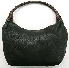 Authentic FENDI Spy Hobo Bag in Rare Brown Leather